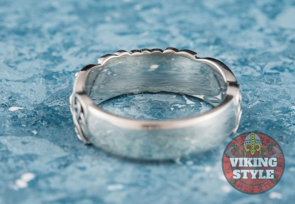 Norse Ring IV - 925 Silver