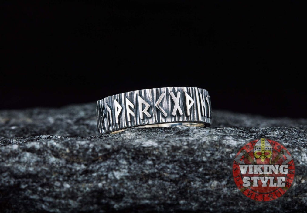 Runic Ring - 925 Silver