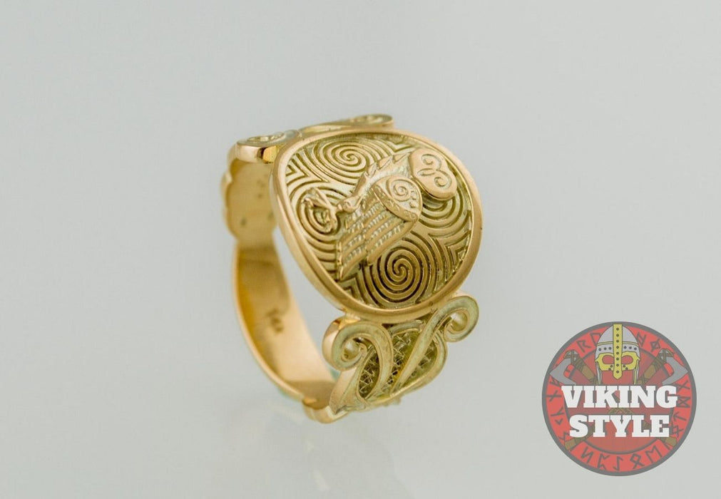 Owl Ring - Gold