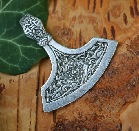 Viking Axe Pendant