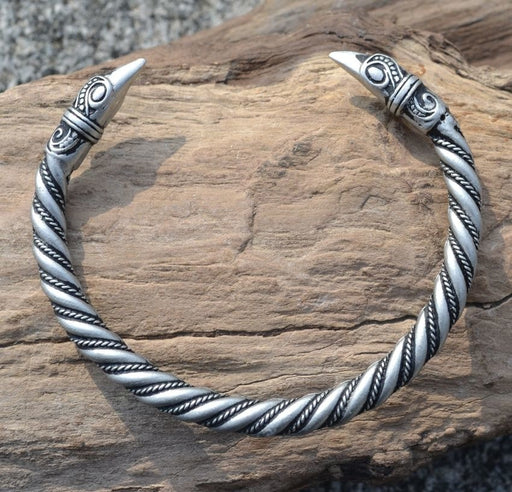 Traditional Viking Arm Ring - Raven-VikingStyle