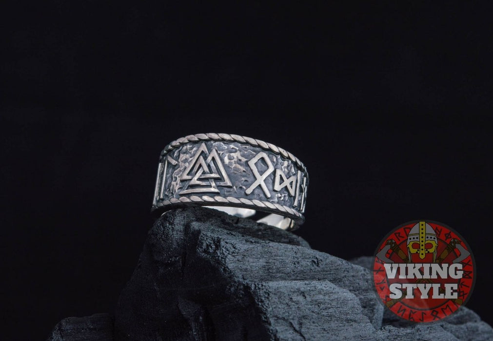 Valknut Ring - Odin Collection, 925 Silver