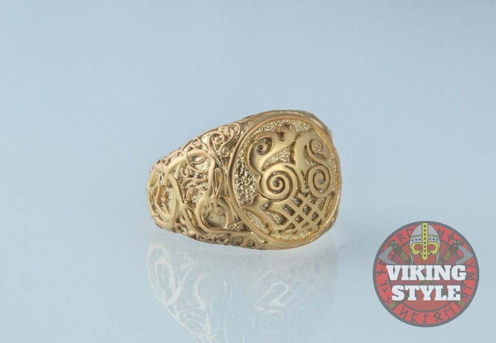 Sleipnir Ring - Urnes, Gold
