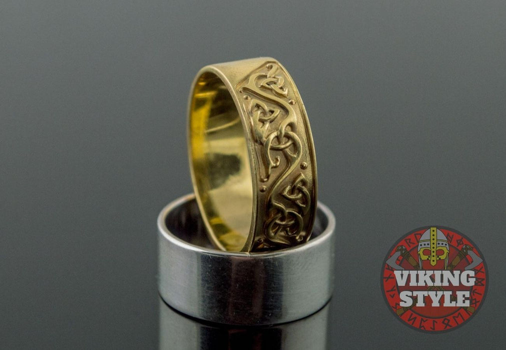 Norse Ring IV - Gold