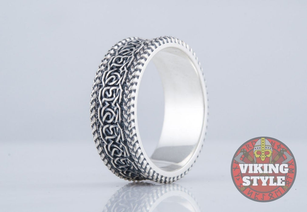Norse Ring VII - 925 Silver