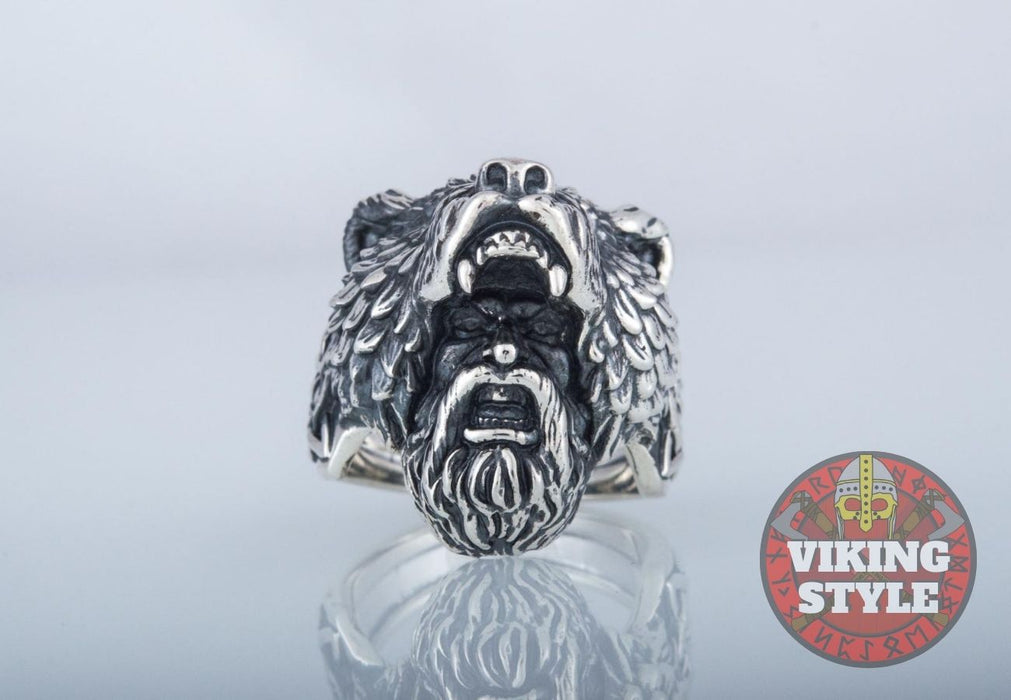 Viking Ring - Berserker, 925 Silver