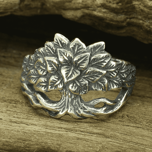 Silver Norse Tree Ring-VikingStyle