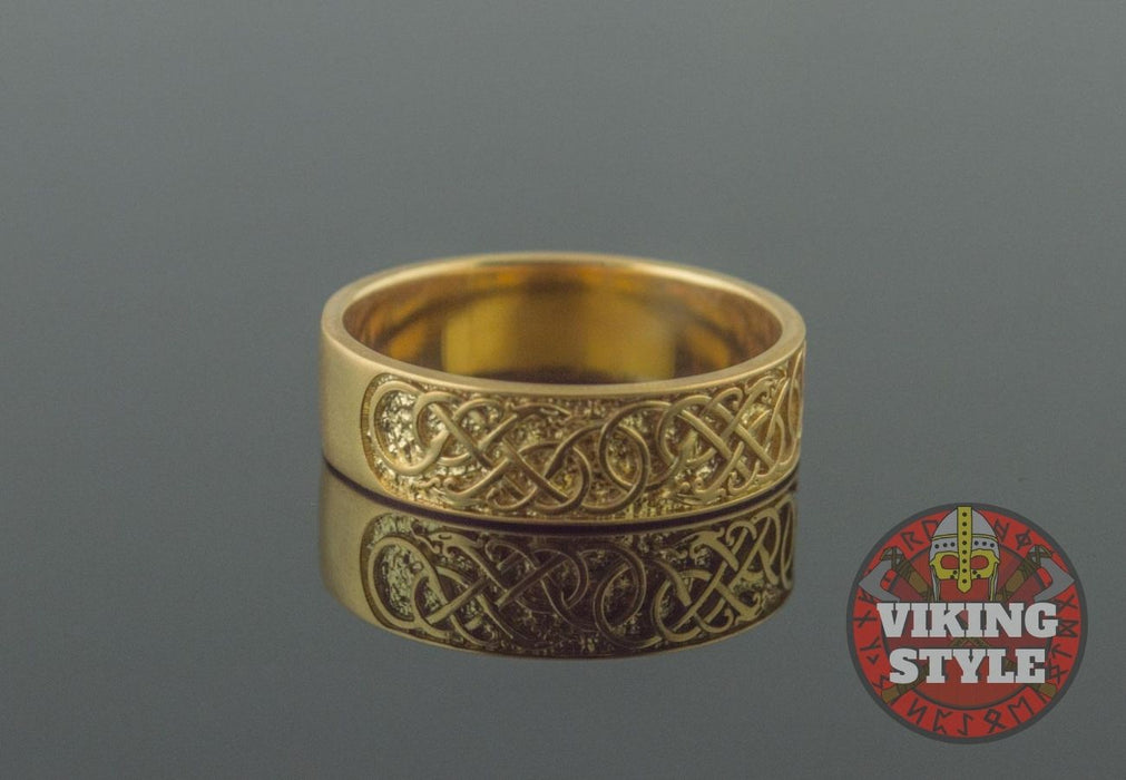 Norse Ring V - Gold