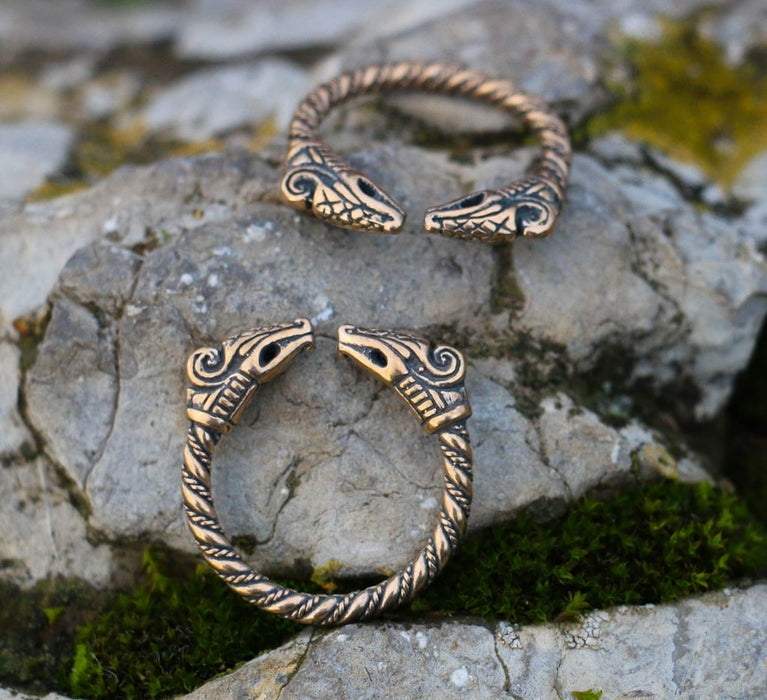 Bronze Dragon Ring-VikingStyle