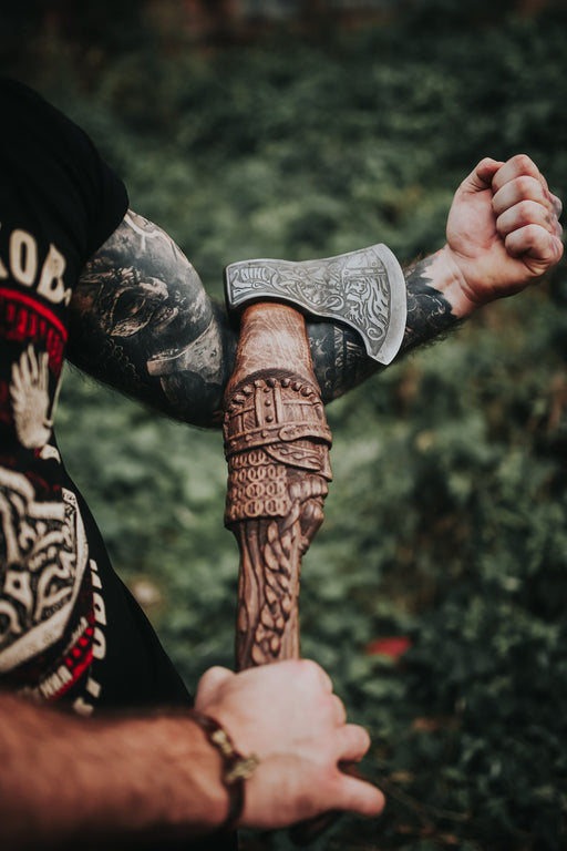 Handmade Viking Axe - Warrior-VikingStyle
