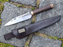 Hand Forged Seax & Sheath-VikingStyle