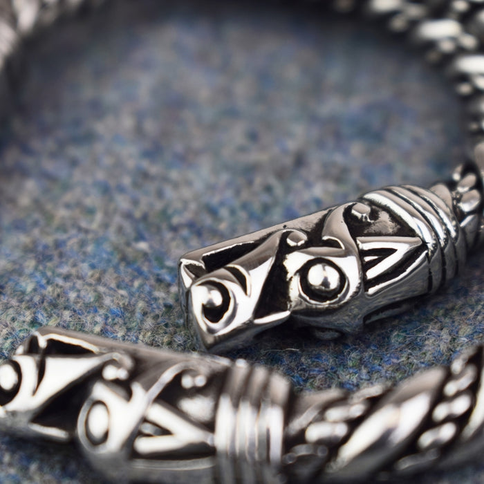 Large Viking Dragon Bracelet