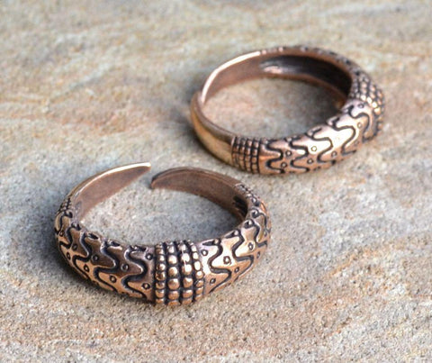 Bronze Orupgård Ring Replica-VikingStyle