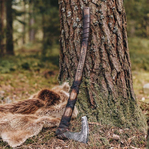 Classic Norse Battle Axe-VikingStyle