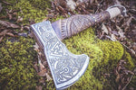 Handmade Viking Axe - Allfather design-VikingStyle