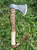Handmade Viking Axe - Dragon-VikingStyle