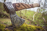 Handmade Viking Axe - Eagle-VikingStyle