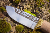 Handmade Viking Knife - Perun Eagle-VikingStyle