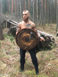 Handmade Viking Shield-VikingStyle