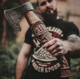 Handmade Viking Axe - Warrior