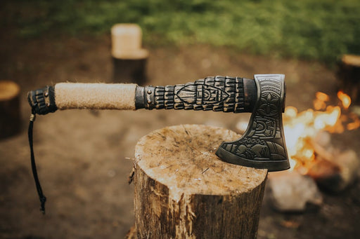 Handmade Viking Soldier Axe