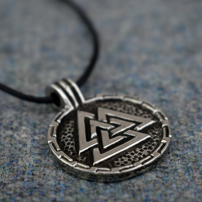 Valknut Shield Pendant