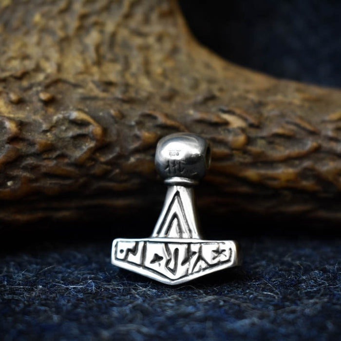 Silver Lolland Thor's Hammer Pendant