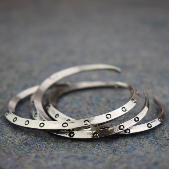 Circular Pattern Viking Ring Money Bracelet