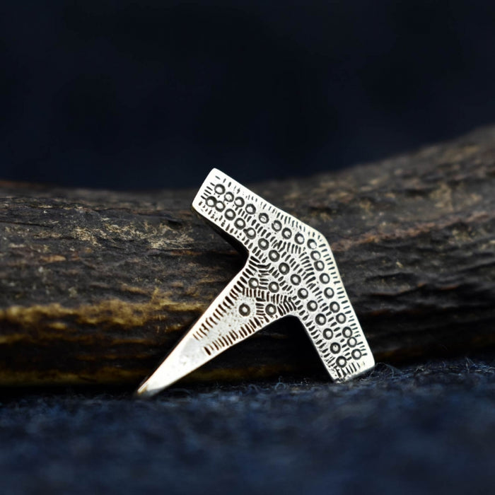 Silver Romesdal Thor's Hammer Pendant