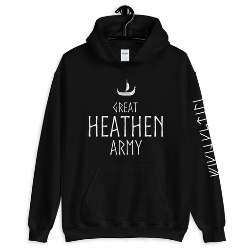 Great Heathen Army Hoodie-VikingStyle