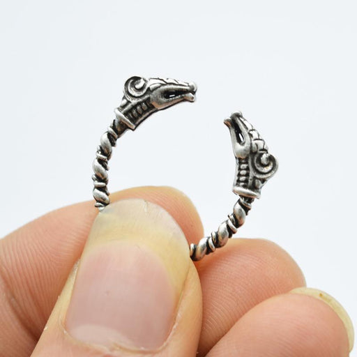 Norse Dragon Adjustable Ring-VikingStyle