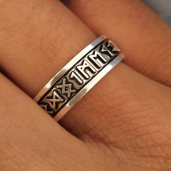 Norse Rune Ring-VikingStyle