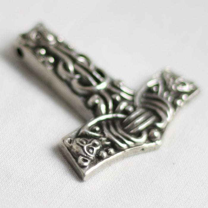 Silver Faroese Thor's Hammer Pendant