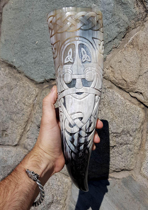 Odin Allfather Drinking Horn-VikingStyle