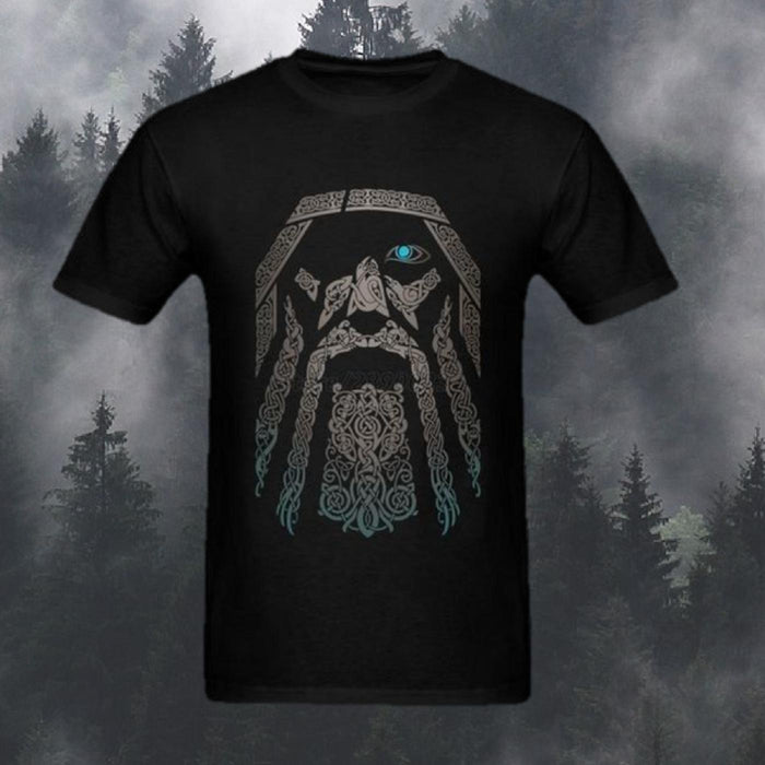Odin T-Shirt 100% Cotton-VikingStyle