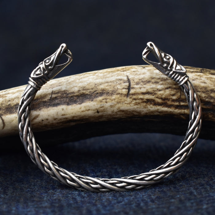 Small Silver Dragon Bracelet