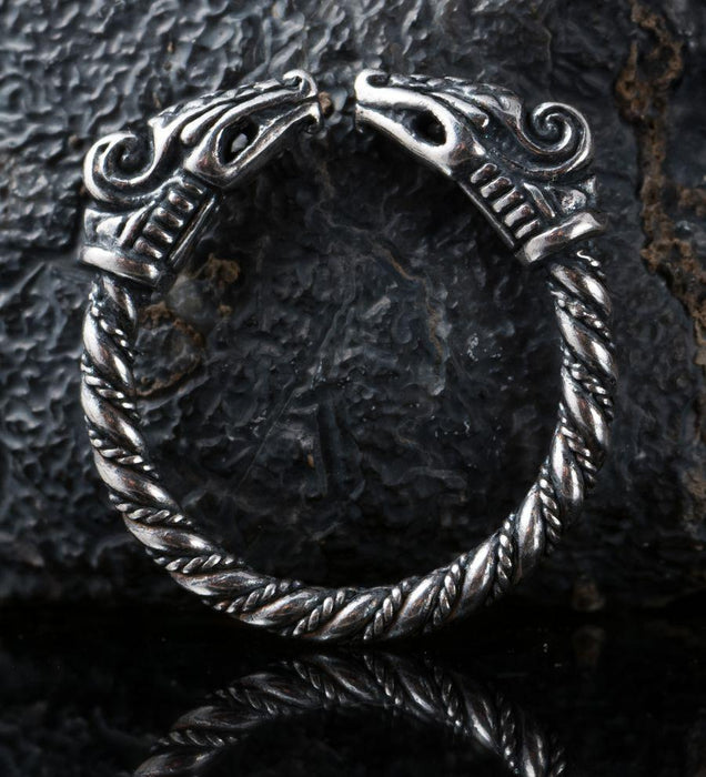 Silver Dragon Ring-VikingStyle