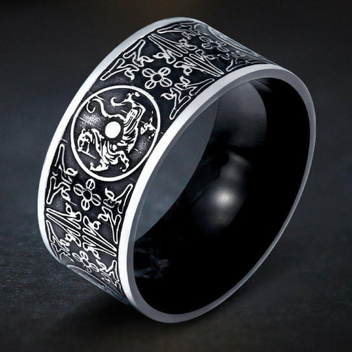 Stainless Steel Norse Ring-VikingStyle