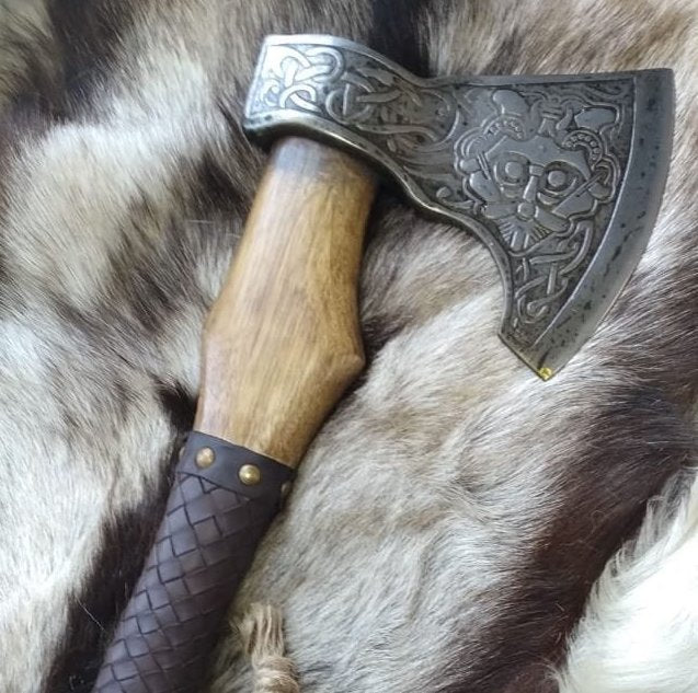 Custom Torsten Viking Axe