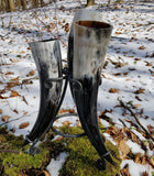 Viking Drinking horns - Set of 3-VikingStyle