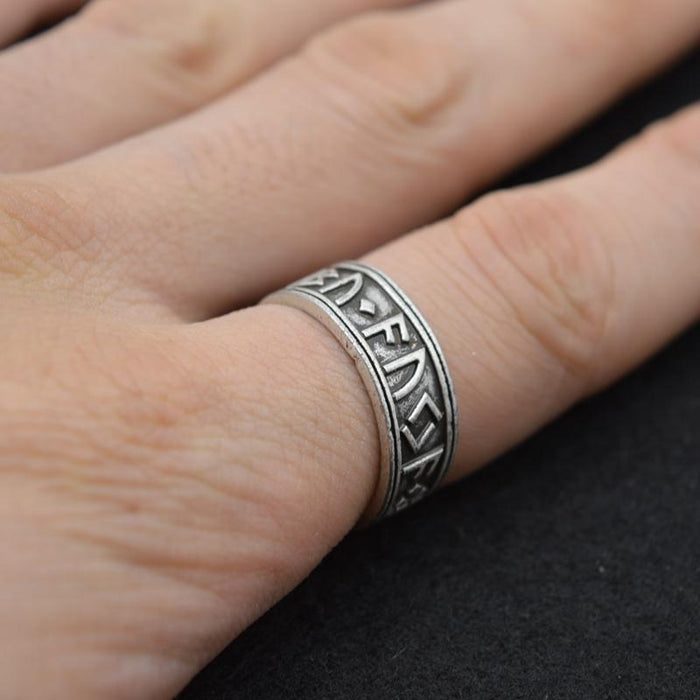 Viking Rune Ring-VikingStyle