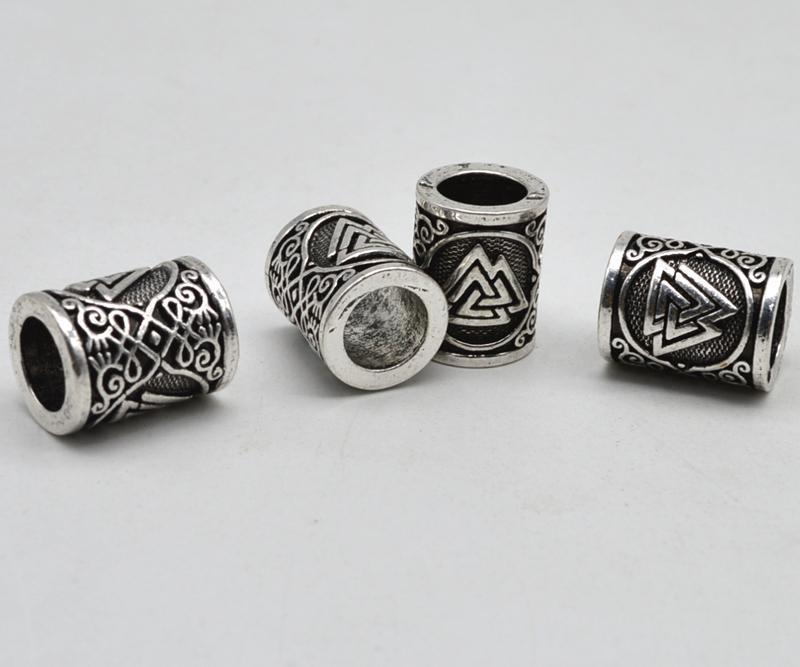 Viking Valknut Beads-VikingStyle