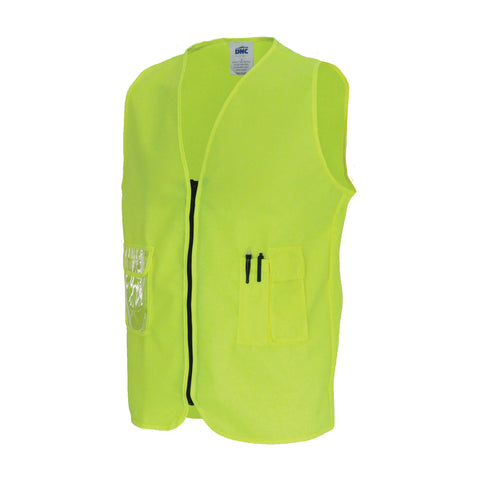 3806 Daytime Side Panel Safety Vests