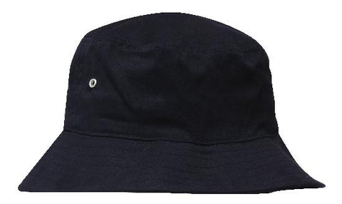 Brushed Sports Twill Bucket Hat