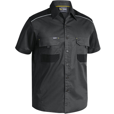 Bisley FLEX & MOVE™ Mechanical Stretch S/S Shirt