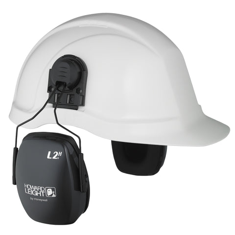 Howard Leight Leightning L2H Cap Mounted Earmuffs