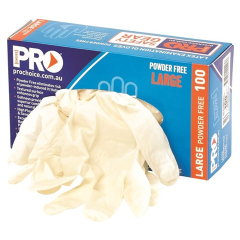 Disposable Latex Powder Free Gloves