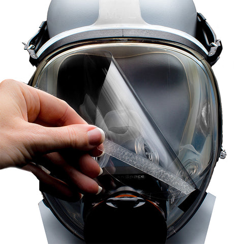 CleanSpace™ PAF-1018 Full Face Mask Tear off Visor Anti-Scratch Protectors