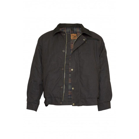 Burke & Wills Swan Hill Bomber Jacket - Brown