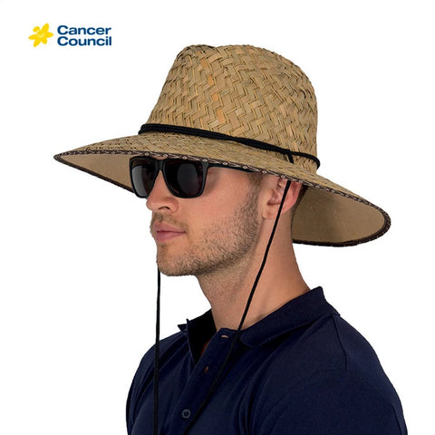 Cancer Council Straw Surf Hat